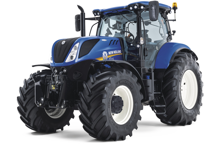 Gama de tractores New Holland T7.
