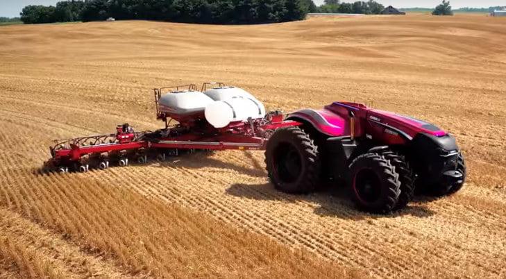Los tractores autónomos se abren paso
