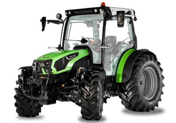 Deutz-Fahr 5D TTV, el tractor multitarea con transmisión continua