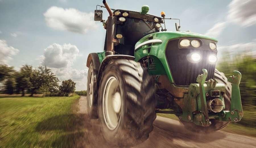 Los tractores en el sector agrícola español