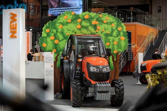 Novedades en el tractor Kubota especialista M5001