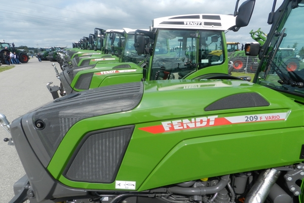 Fendt continúa creciendo en España en tractores de más de 60 CV